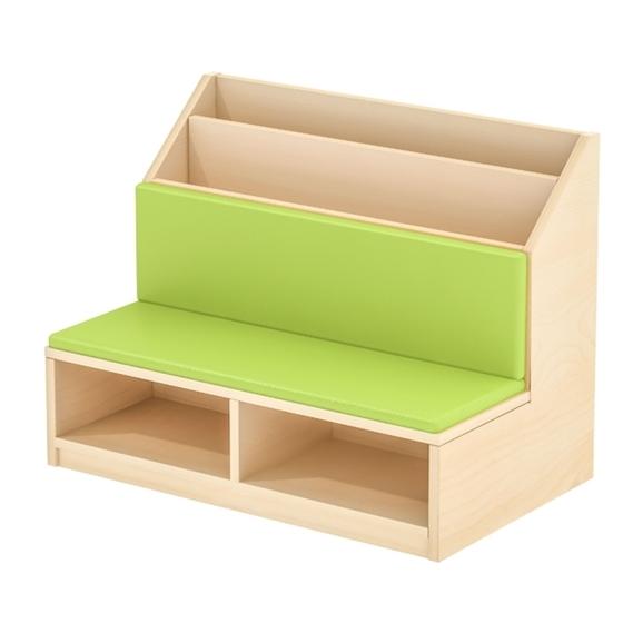 Εικόνα της Βιβλιοθήκη με κάθισμα