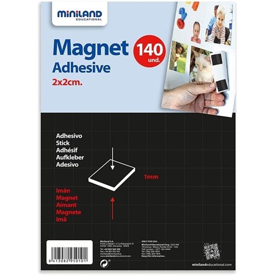 Εικόνα της Αυτοκόλλητοι μαγνήτες 140 τεμάχια
