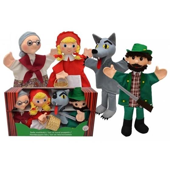 Εικόνα της Κούκλες κουκλοθεάτρου Κοκκινοσκουφίτσα